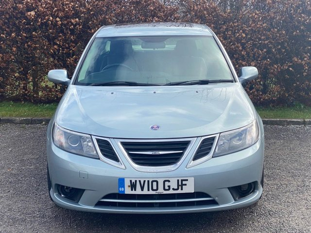 USED 2010 10 SAAB 9-3 1.9 TURBO EDITION TID 4d SERVICE HISTORY, 12 MONTHS MOT, HEATED SEATS, FULL LEATHER INTERIOR, CRUISE CONTROL