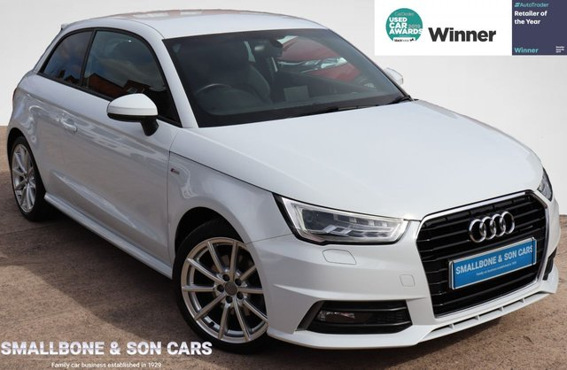 USED 2017 66 AUDI A1 1.4 TFSI S LINE 3d 123 BHP * BUY ONLINE * FREE NATIONWIDE DELIVERY *