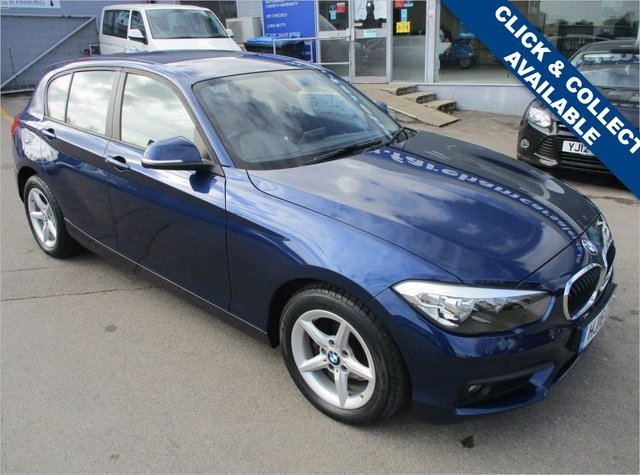 USED 2016 16 BMW 1 SERIES 2.0 118D SE 5d 147 BHP STUNNING CONDITION AND DRIVE