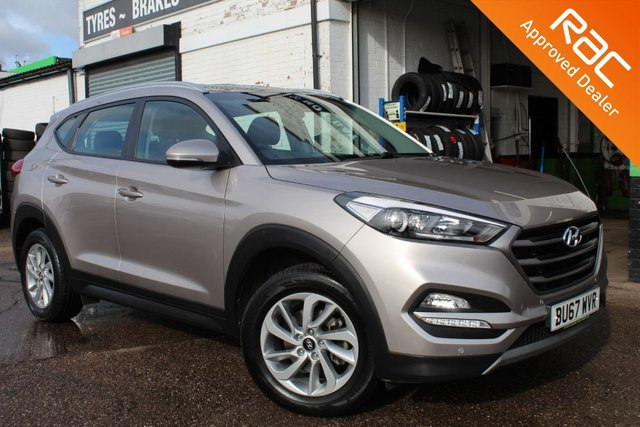 USED 2017 67 HYUNDAI TUCSON 1.6 GDI SE NAV BLUE DRIVE 5d 130 BHP VIEW AND RESERVE ONLINE OR CALL 01527-853940 FOR MORE INFO.