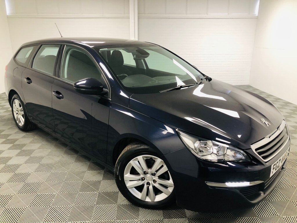 USED 2017 PEUGEOT 308 1.6 BLUE HDI S/S SW ACTIVE 5d 120 BHP £137 a month, T&Cs apply.