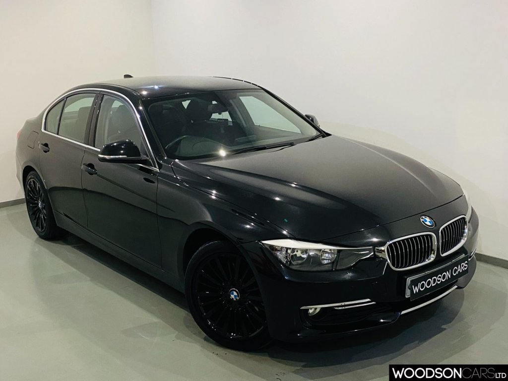 USED 2013 13 BMW 3 SERIES 2.0 320D LUXURY 4d 184 BHP Sat Nav / DAB Radio / Aux / Isofix / Heated Leather Seats