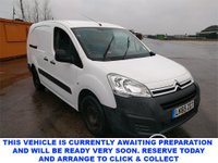 USED 2015 65 CITROEN BERLINGO 1.6 725 X L2 HDI 5 Seat Panel Van with NO VAT TO PAY and Great Value for Money