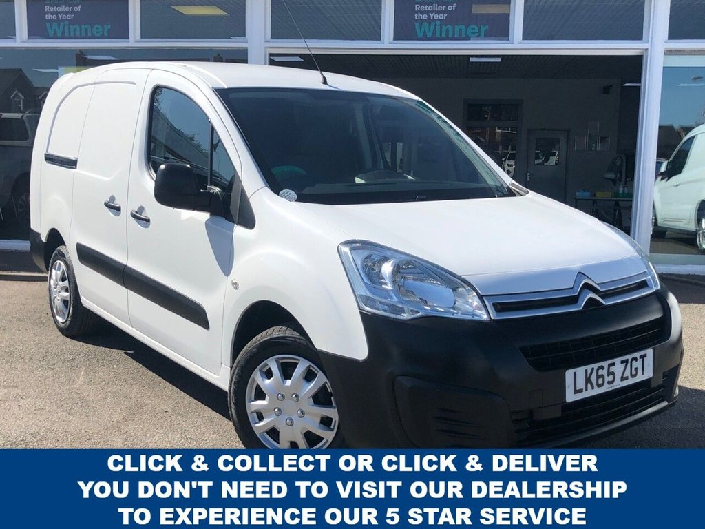 USED 2015 65 CITROEN BERLINGO 1.6 725 X L2 HDI 5 Seat Panel Van with NO VAT TO PAY and Great Value for Money Recent Service & MOT New Front Brakes & Air Filter  Ready to Finance and Drive Away Today  Perfect Works Van + 5 Seater Configuration