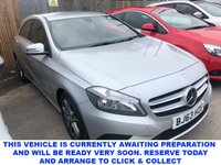 USED 2013 63 MERCEDES-BENZ A-CLASS 1.5 A180 CDI BLUEEFFICIENCY SPORT 5d 5 Seat Family Hatchback Great Value for Money Prestige vehicle. Spec including Sat Nav, Bluetooth, Auto Lights, Radio, Cruise Control & ECO mode.  Stylish Mercedes-Benz Hatchback