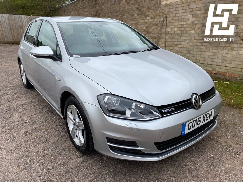 USED 2016 16 VOLKSWAGEN GOLF 1.0 MATCH EDITION TSI BLUEMOTION 5d 114 BHP EURO 6 ULEZ/1 OWNER/GREAT SPEC/B/TOOTH+USB+AUX+DAB+F/R PARKING SENSOR
