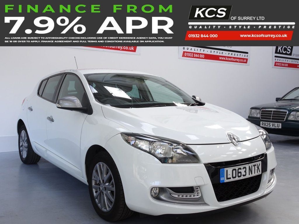 USED 2013 63 RENAULT MEGANE 1.5 KNIGHT EDITION ENERGY DCI S/S 5d 110 BHP PARKING SENSORS - BLUETOOTH