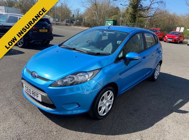 2010 10 FORD FIESTA 1.25 EDGE