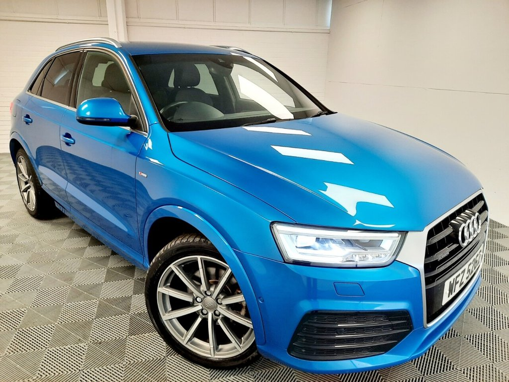USED 2015 11 AUDI Q3 2.0 TDI QUATTRO S LINE PLUS 5d 182 BHP NATIONWIDE DELIVERY AVAILABLE!