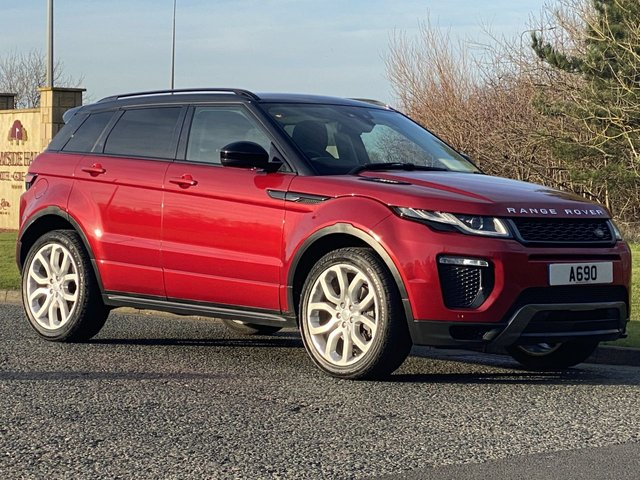 USED 2015 65 LAND ROVER RANGE ROVER EVOQUE 2.0 TD4 HSE DYNAMIC 5d 177 BHP 4WD AUTO Pan roof Black Pack Leather
