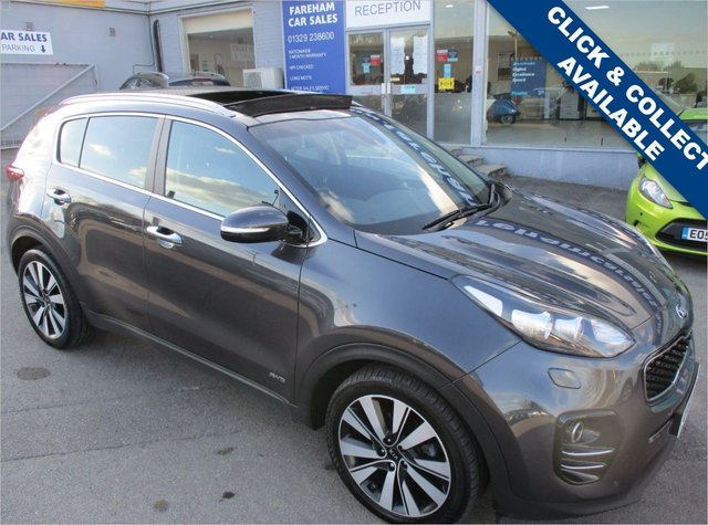 USED 2016 66 KIA SPORTAGE 2.0 CRDI KX-4 5d 182 BHP FULL KIA SERVICE HISTORY + ONE REGISTERED KEEPER
