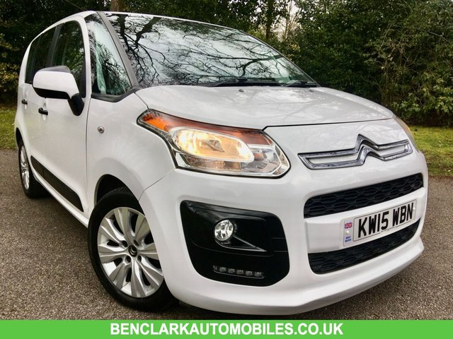2015 15 CITROEN C3 PICASSO 1.6 VTR PLUS HDI 5d 91 BHP 20 POUND ROAD TAX//ONLY 35,000 MILES // FULL SERVICE HISTORY/