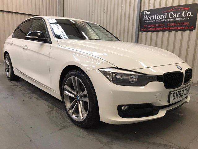 2014 63 BMW 3 SERIES 2.0 316D SPORT 4d 114 BHP
