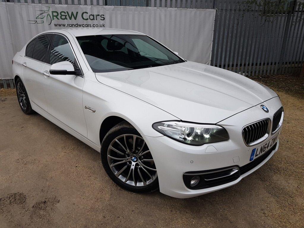 USED 2014 64 BMW 5 SERIES 2.0 520D LUXURY 4d 188 BHP
