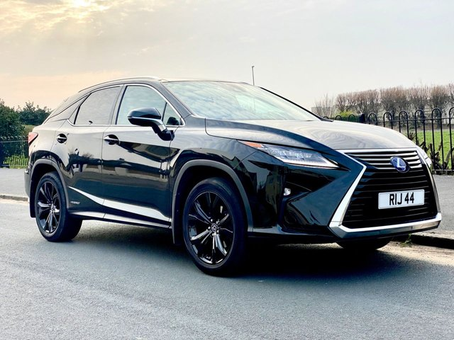 USED 2018 18 LEXUS RX 3.5 450H SPORT 5d PANORAMIC ROOF