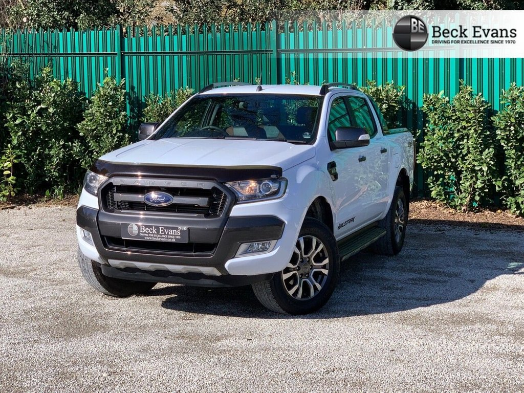 USED 2018 68 FORD RANGER 3.2 WILDTRAK 4X4 DCB TDCI 4d 197 BHP NO ADDED VAT TO PAY