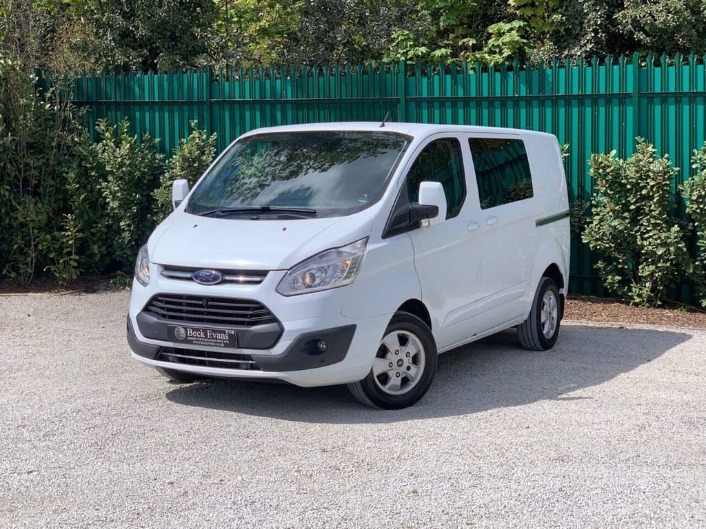 USED 2017 17 FORD TRANSIT CUSTOM 2.0 310 LIMITED LR DCB 129 BHP COMBI VAN NO ADDED VAT TO PAY