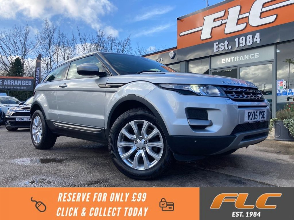 USED 2015 15 LAND ROVER RANGE ROVER EVOQUE 2.2 ED4 PURE TECH 3d 150 BHP