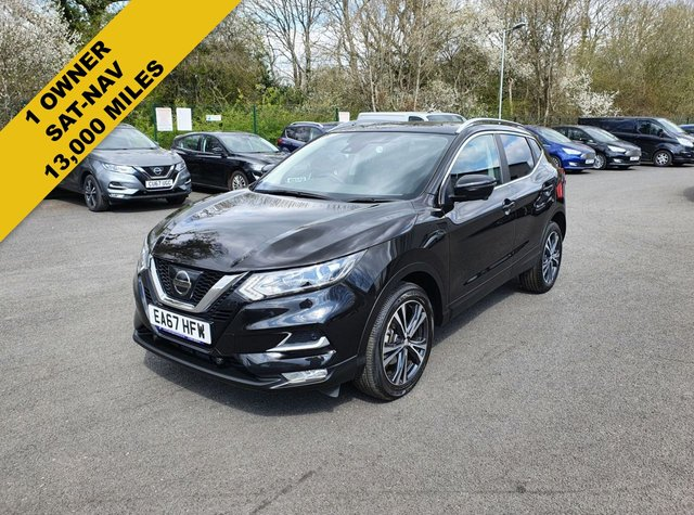 2018 67 NISSAN QASHQAI 1.2 N-CONNECTA DIG-T XTRONIC AUTOMATIC