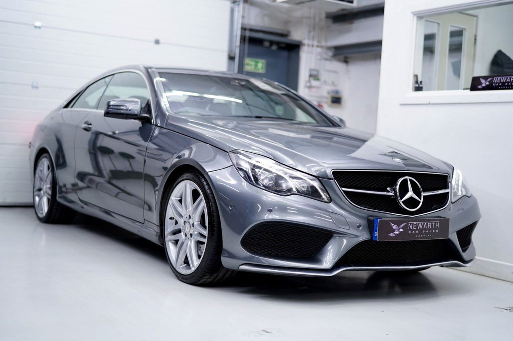 USED 2016 16 MERCEDES-BENZ E-CLASS 2.1 E220 AMG Line Edition 7G-Tronic Plus (s/s) 2dr SELENITE GREY | 19' AMG ALLOYS