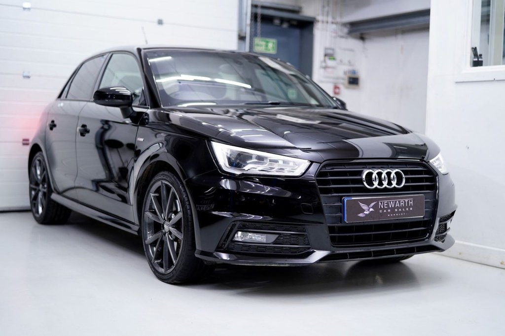 USED 2015 65 AUDI A1 1.6 TDI S line Sportback S Tronic (s/s) 5dr (Nav) AUDI BLACK STYLING PACKAGE