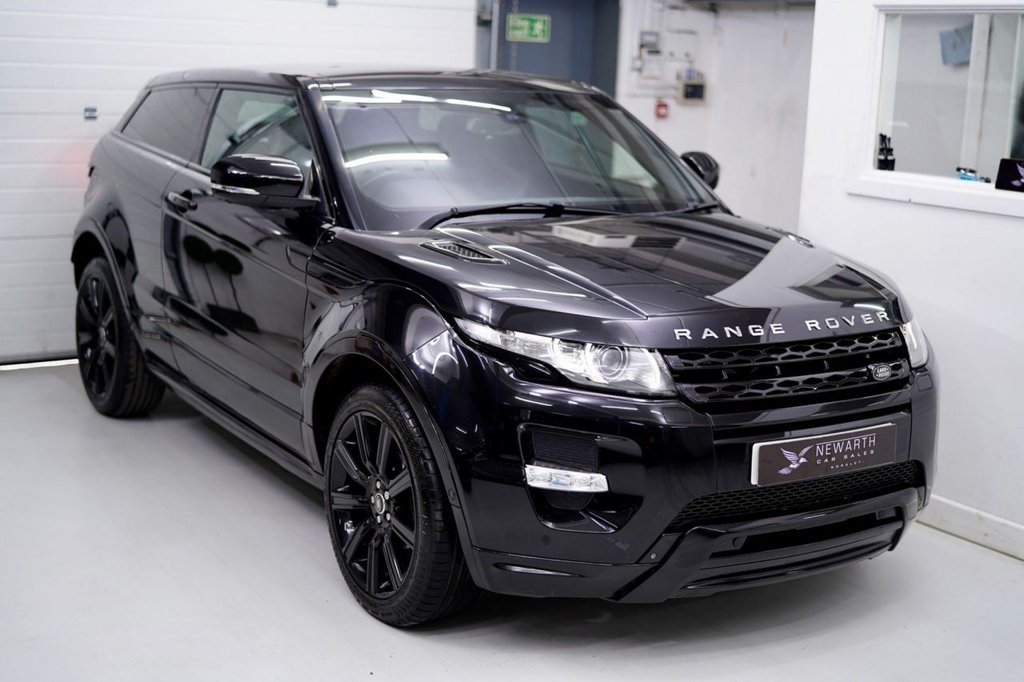USED 2013 63 LAND ROVER RANGE ROVER EVOQUE 2.2 SD4 Dynamic Lux 4X4 3dr ++LUXURY PACK++ BUCKET SEATS