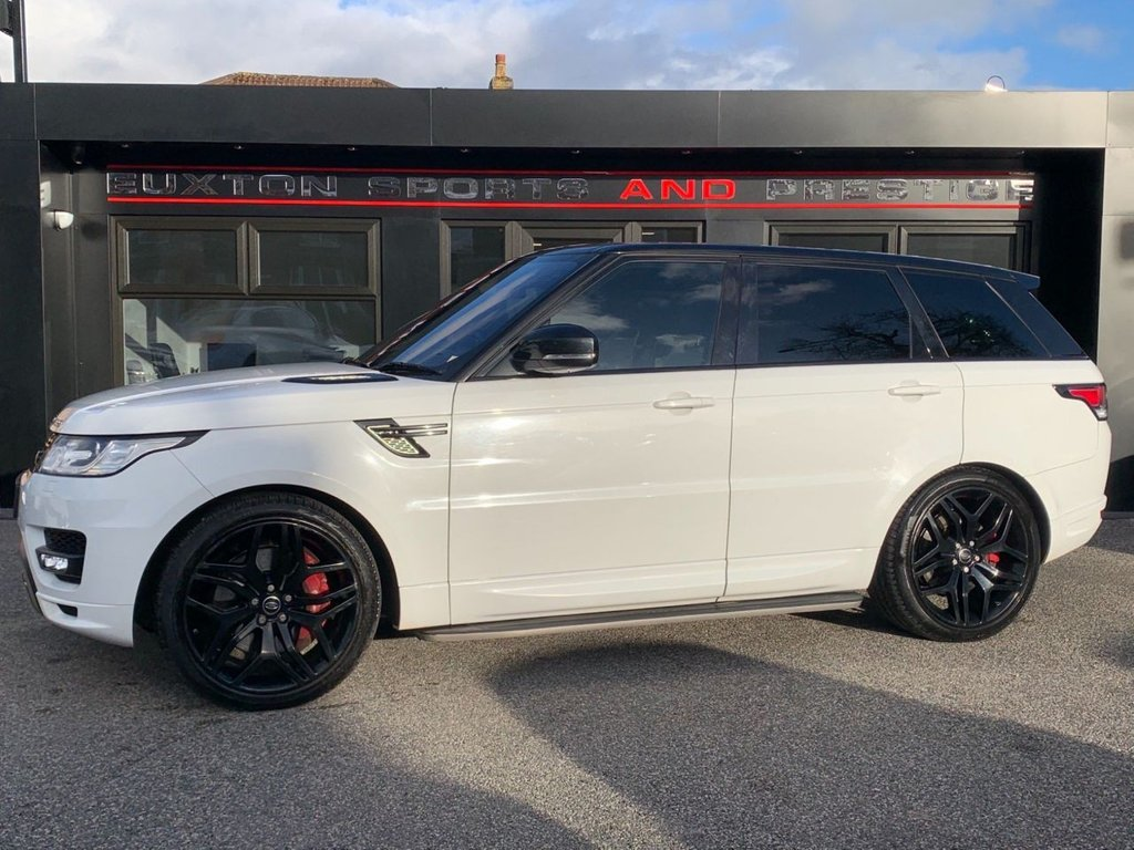 USED 2013 13 LAND ROVER RANGE ROVER SPORT 3.0 SD V6 Autobiography Dynamic 4X4 (s/s) 5dr SERVICE HISTORY