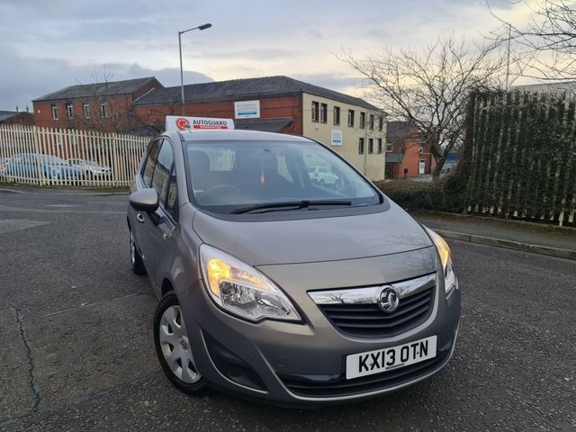 USED 2013 13 VAUXHALL MERIVA 1.7 EXCLUSIV CDTI 5d 128 BHP A GREAT FAMILY CAR