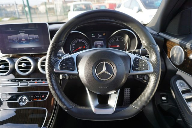 USED 2014 64 MERCEDES-BENZ C-CLASS 2.1 C250 BLUETEC AMG LINE PREMIUM PLUS 4d 204 BHP AMAZING LOW MILEAGE HIGH SPEC