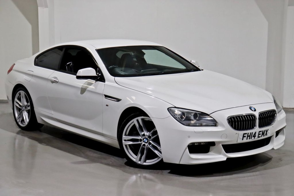 USED 2014 14 BMW 6 SERIES 3.0 640D M SPORT 2d 309 BHP