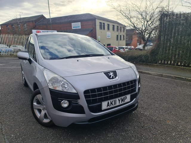 USED 2011 11 PEUGEOT 3008 1.6 SPORT HDI 5d 112 BHP A GREAT AUTOMATIC