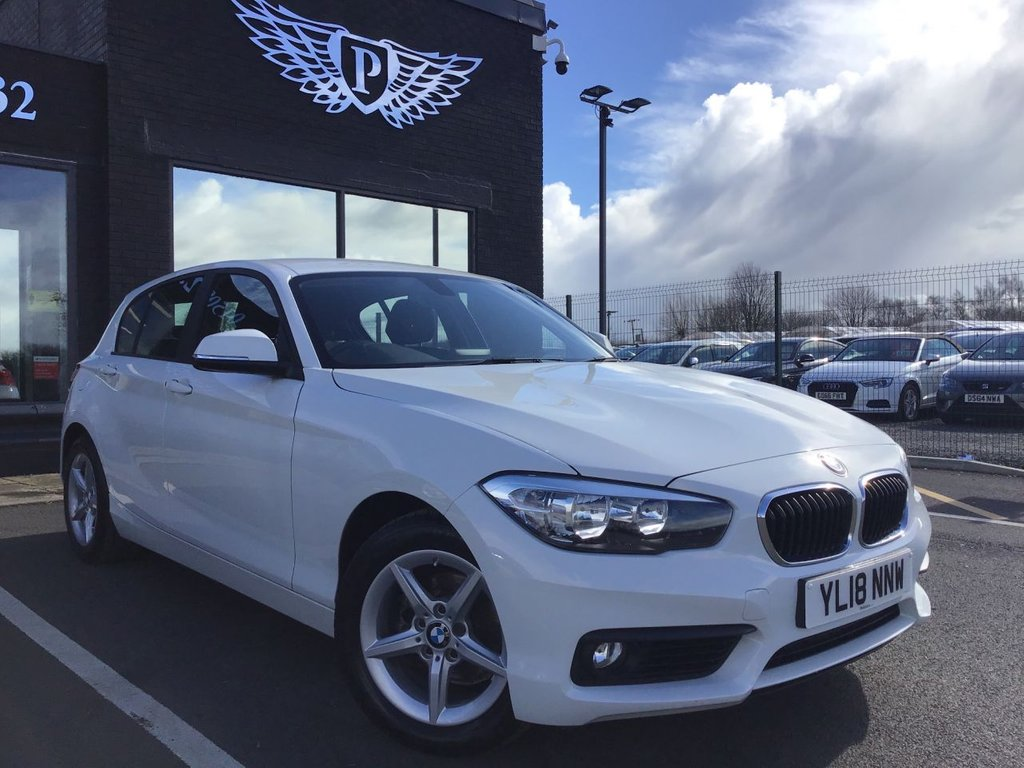 USED 2018 18 BMW 1 SERIES 2.0 118D SE 5d 147 BHP (CATEGORY N)