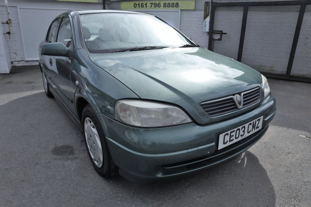 USED 2003 03 VAUXHALL ASTRA 1.6 CLUB 8V 5d 85 BHP * P/X TO CLEAR - PETROL & GAS