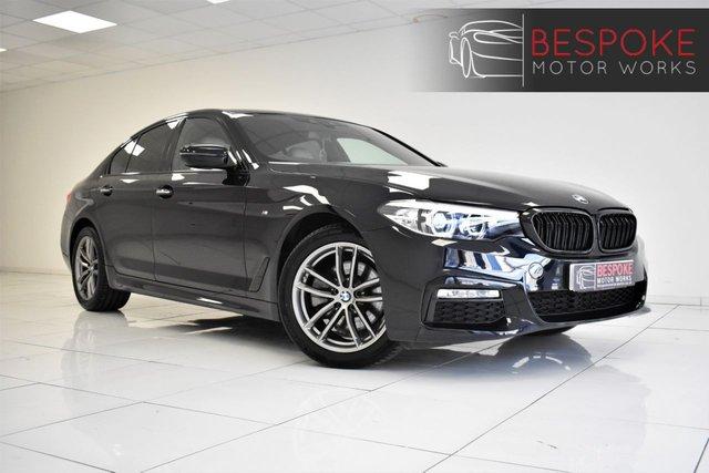 2018 18 BMW 5 SERIES 520D 2.0 M SPORT