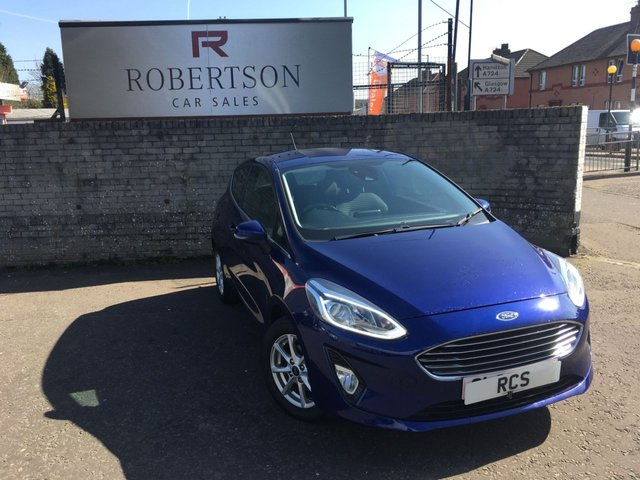 USED 2017 67 FORD FIESTA 1.1 ZETEC 3dr ECONOMICAL SMALL HATCH
