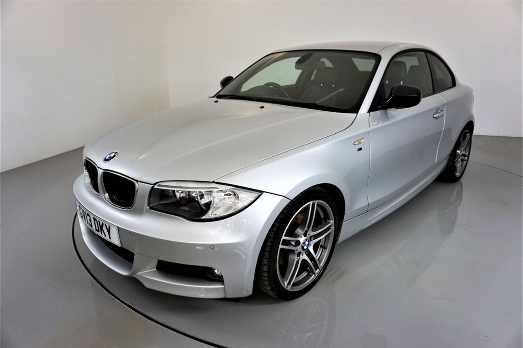 USED 2013 13 BMW 1 SERIES 2.0 118D SPORT PLUS EDITION 2d-30 ROAD TAX-HEATED BLACK BOSTON LEATHER-CRUISE CONTROL-PARKING SENSORS-18