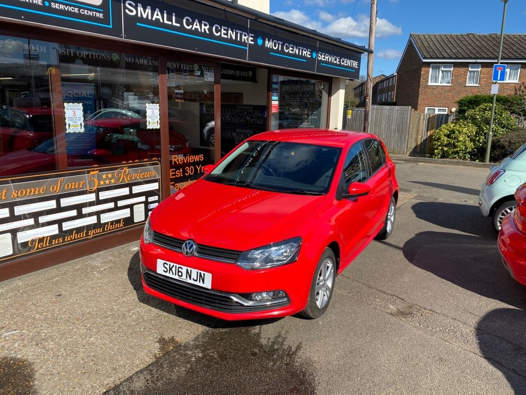 USED 2016 16 VOLKSWAGEN POLO 1.2 MATCH TSI 5d 89 BHP BLUETOOTH - DAB - USB - AUX - AIRCON - FRONT & REAR PARKING SENSORS