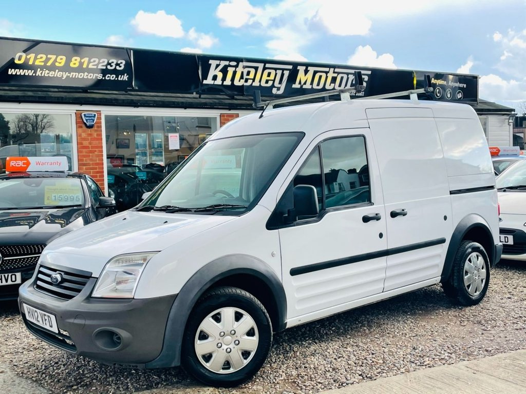 USED 2012 12 FORD TRANSIT CONNECT 1.8 T230 HR 90 BHP