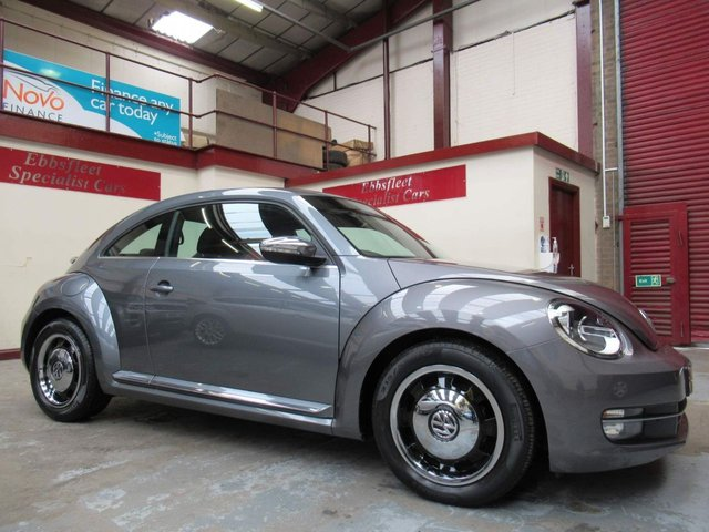 USED 2016 65 VOLKSWAGEN BEETLE 1.4 TSI BlueMotion Tech Design (s/s) 3dr *18000 MILES F/DOCUMENTED/S/H*