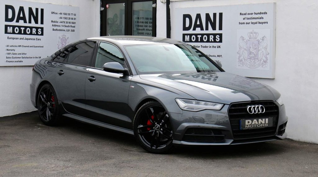 USED 2016 66 AUDI A6 2.0 TDI ultra Black Edition S Tronic (s/s) 4dr 1 OWNER*PARKING AID*BLUETOOTH