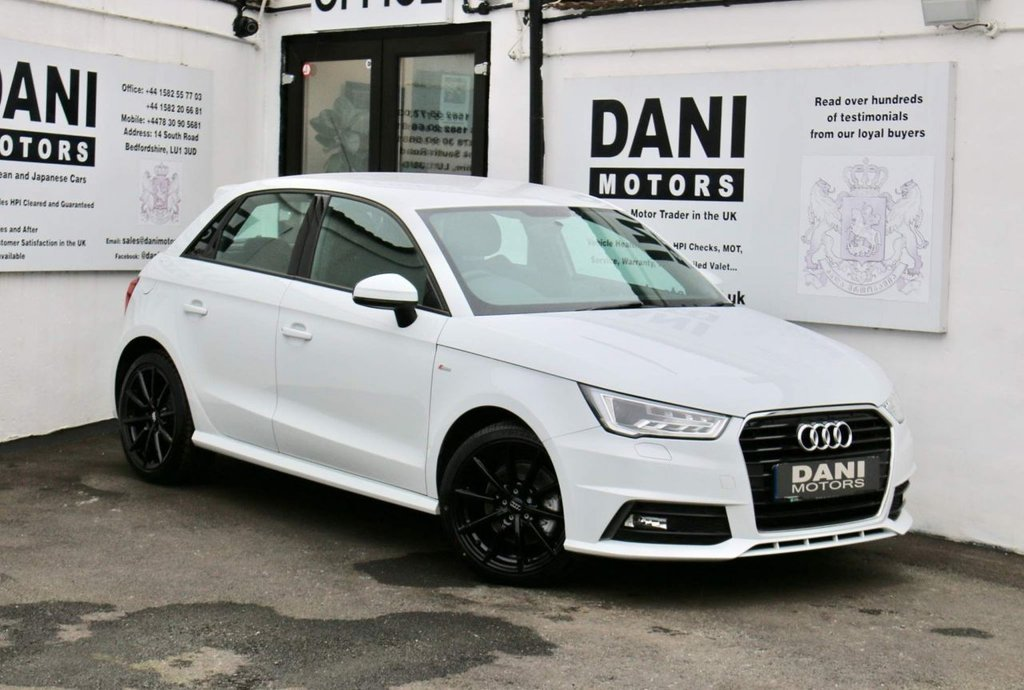 USED 2017 67 AUDI A1 1.6 TDI S line Sportback S Tronic (s/s) 5dr 1 OWNER*XENONS*PARKING AID*