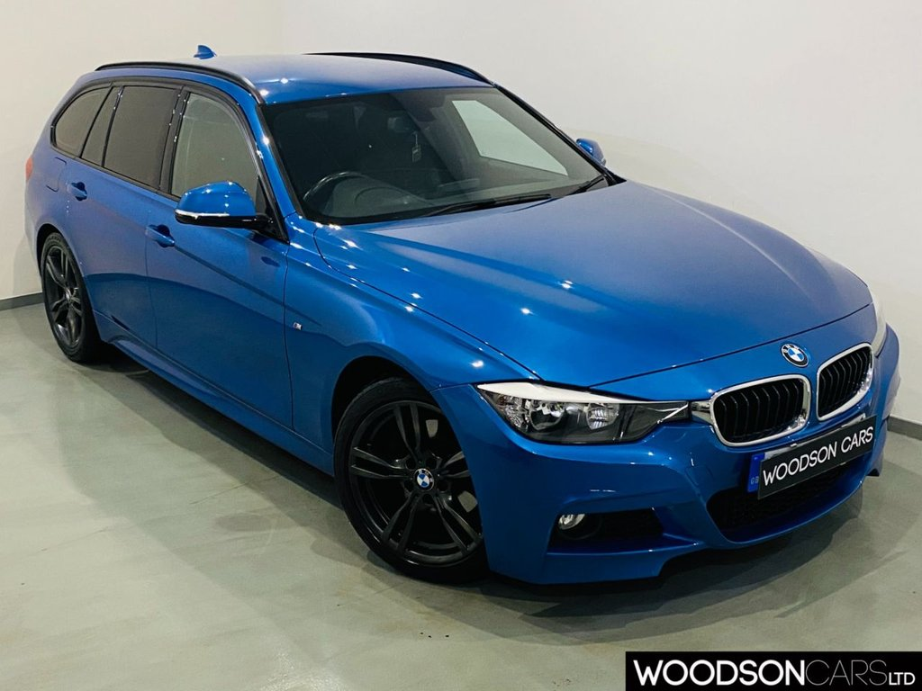 USED 2014 63 BMW 3 SERIES 2.0 320D M SPORT TOURING 5d 181 BHP 1 Previous Owner / Bluetooth / Aux / USB / Isofix / Privacy Glass