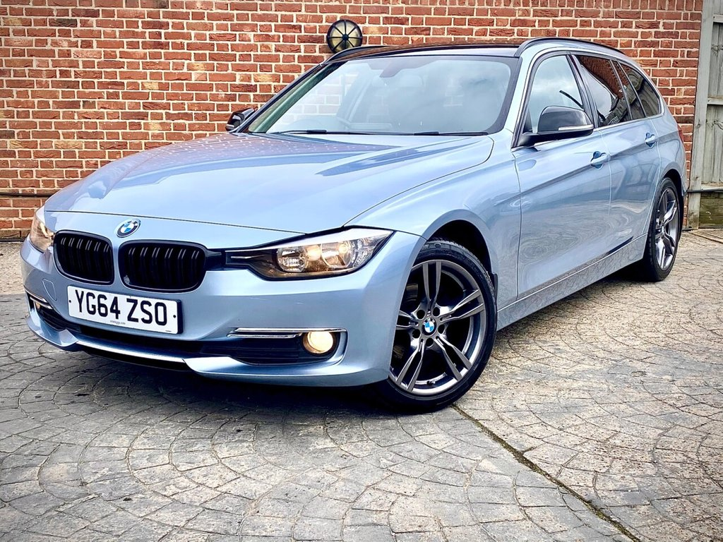 USED 2014 64 BMW 3 SERIES DIESEL TOURING 318d Lux Touring