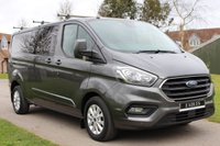 USED 2018 18 FORD TRANSIT CUSTOM 2.0 320 LIMITED DCIV L2 H1 168 BHP LIMITED TOP SPEC CREW 6 SEATS MANUFACTURE WARRANTY 2022