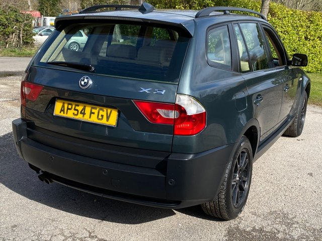 USED 2004 54 BMW X3 3.0 SE 5d 228 BHP AUTOMATIC, DEALER PX TO CLEAR CAR. LONG MOT