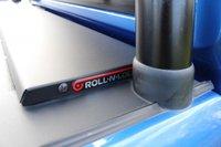 USED 2019 65 VOLKSWAGEN AMAROK 3.0 DC V6 TDI HIGHLINE 4MOTION 4d 255 BHP HIGHLINE V6 FULL HISTORY DARK BLUE WITH BLACK STRIPES + BLACK BADGES