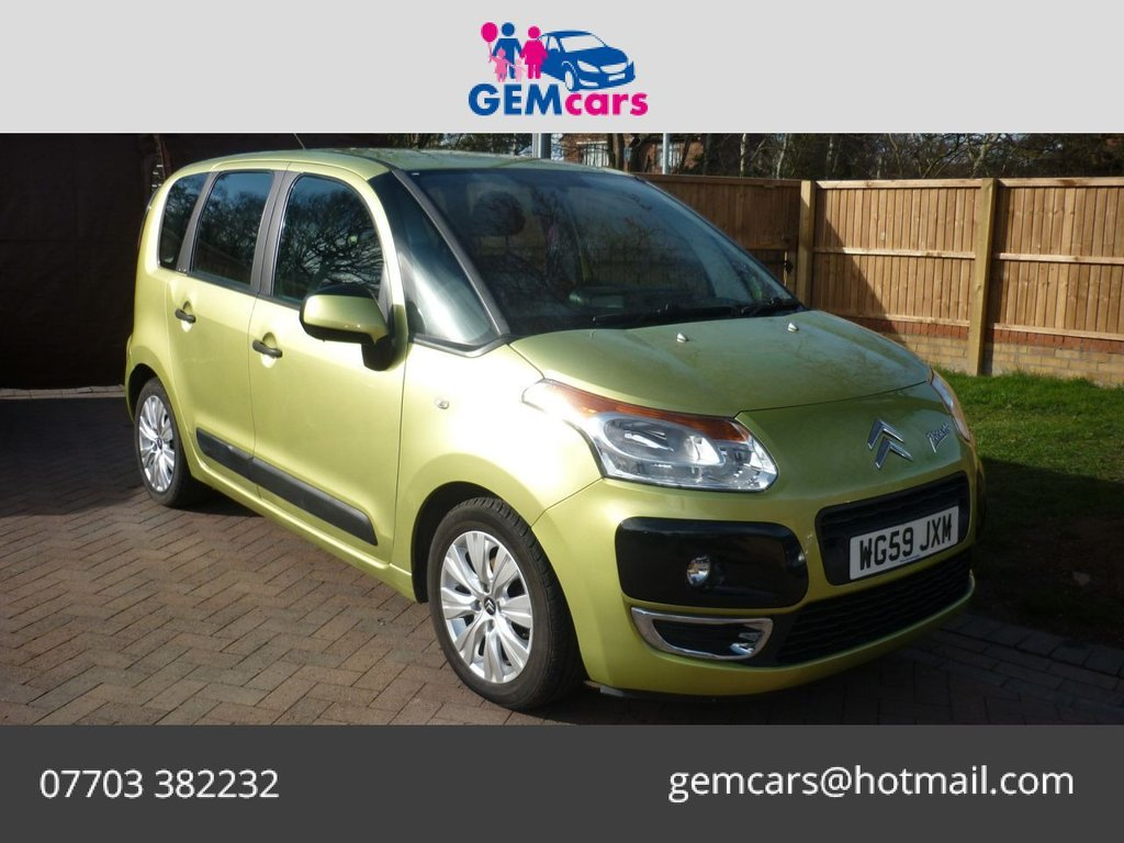 USED 2009 59 CITROEN C3 PICASSO 1.6 VTR PLUS HDI 5d 90 BHP GO TO OUR WEBSITE TO WATCH A FULL WALKROUND VIDEO