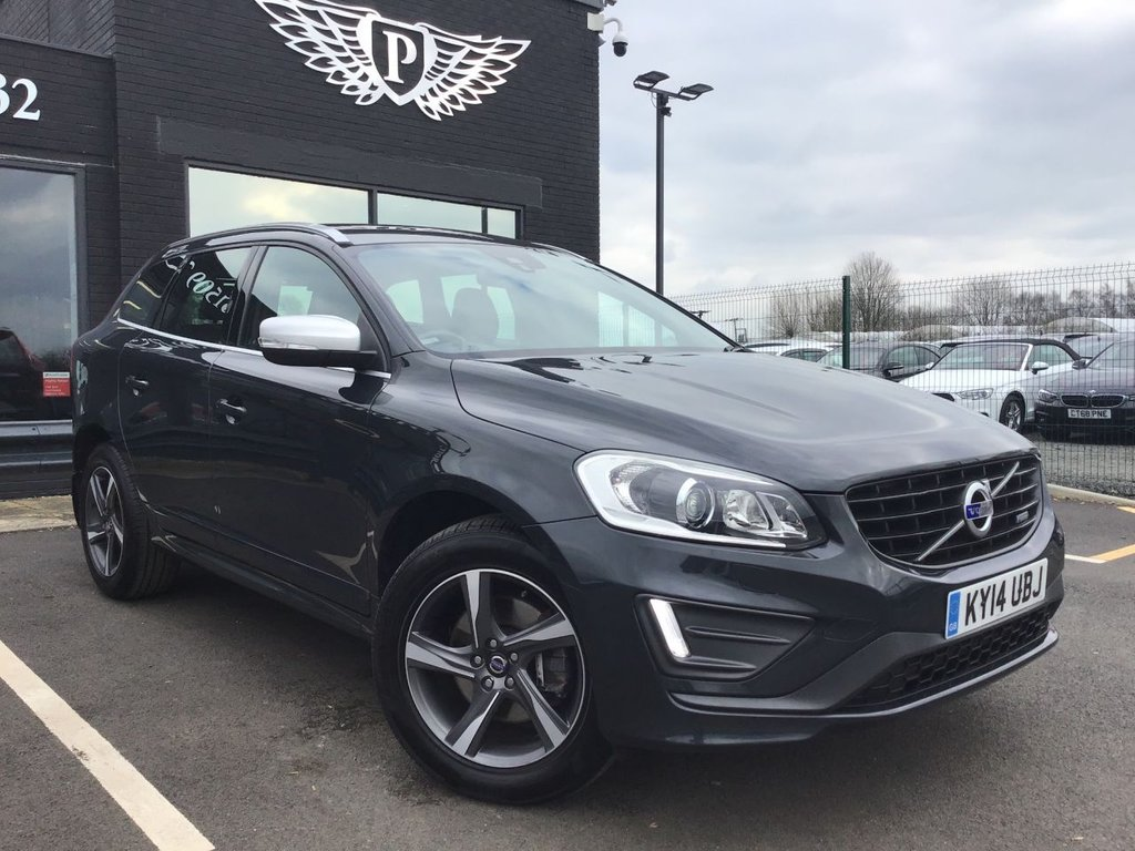 USED 2014 14 VOLVO XC60 2.4 D5 R-DESIGN LUX NAV AWD 5d 212 BHP 14 DAY MONEY BACK GUARANTEE*