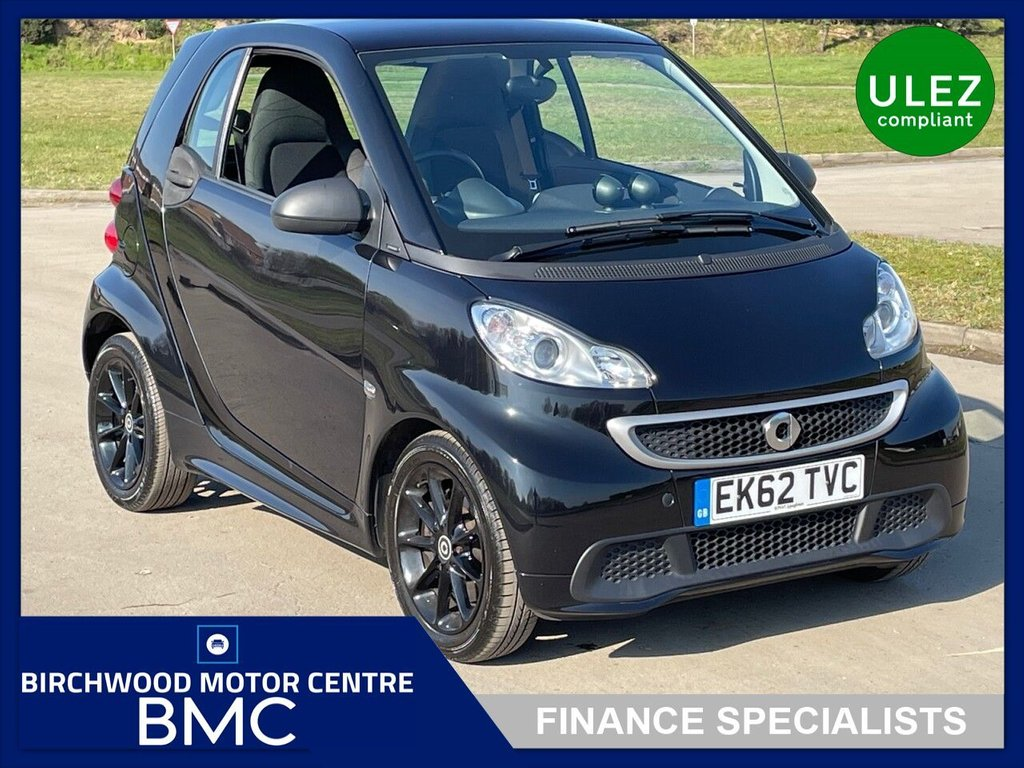 USED 2012 62 SMART FORTWO 1.0 PASSION MHD 2d 71 BHP