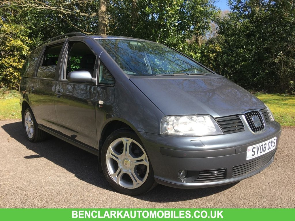 USED 2008 08 SEAT ALHAMBRA 2.0 STYLANCE TDI 5d 140 BHP//7 SEATS/ONLY 2 OWNERS FROM NEW/X2 INTEGRAL CHILD SEATS///NEW CAMBELT //WATERPUMP//MOT//SERVICE 140 BHP//7 SEATS/ONLY 2 OWNERS FROM NEW/X2 INTEGRAL CHILD SEATS///WILL COME WITH NEW CAMBELT // WATERPUMP AND MOT